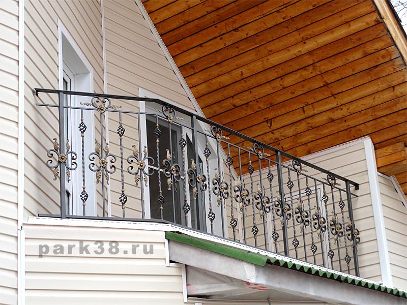 Мастер-парк - кованые перила и ограждения в иркутске.